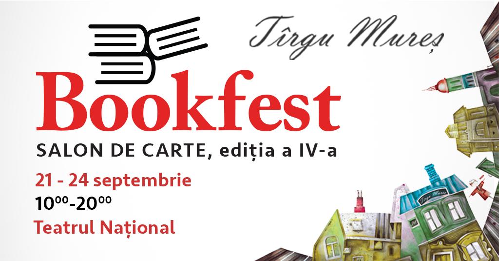 Personalități de cinci stele la Bookfest Tîrgu Mureș, ediția a IV-a