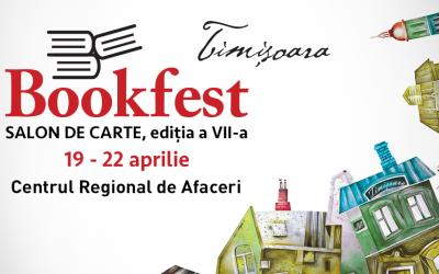 Au început înscrierile la Bookfest Timișoara, ediția a VII-a