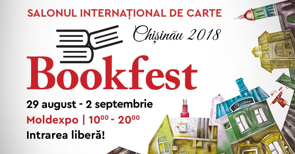 Au început înscrierile pentru Salonul Internațional de Carte Bookfest Chișinău 2018