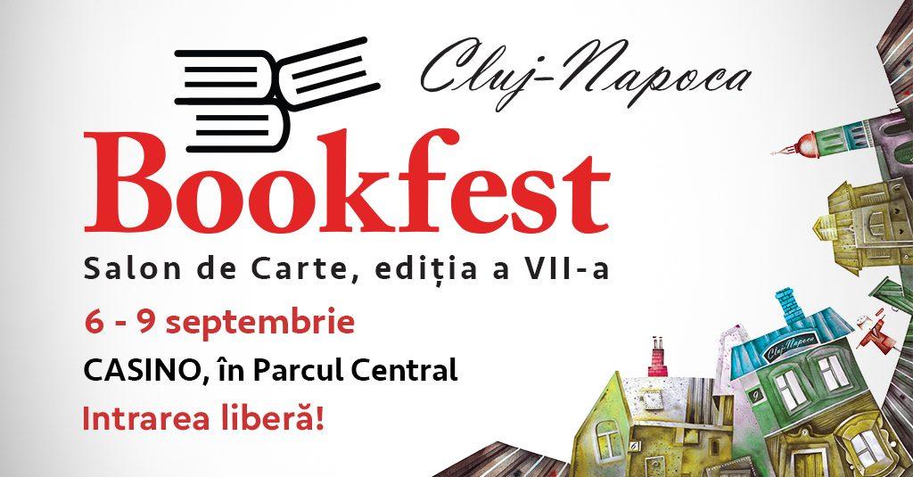 Bookfest se întoarce cu cele mai bune cărți la Cluj-Napoca