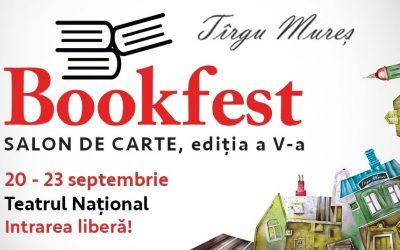 Cele mai bune motive ca să veniți la Bookfest Tîrgu Mureș