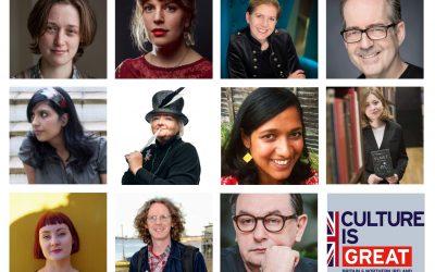 Invitații de onoare ai Bookfest 2019: 11 autori din Marea Britanie sărbătoresc diversitatea în literatură