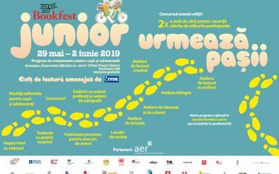 Bookfest Junior 2019: cu peste 60 de evenimente doar pentru copii și adolescenți