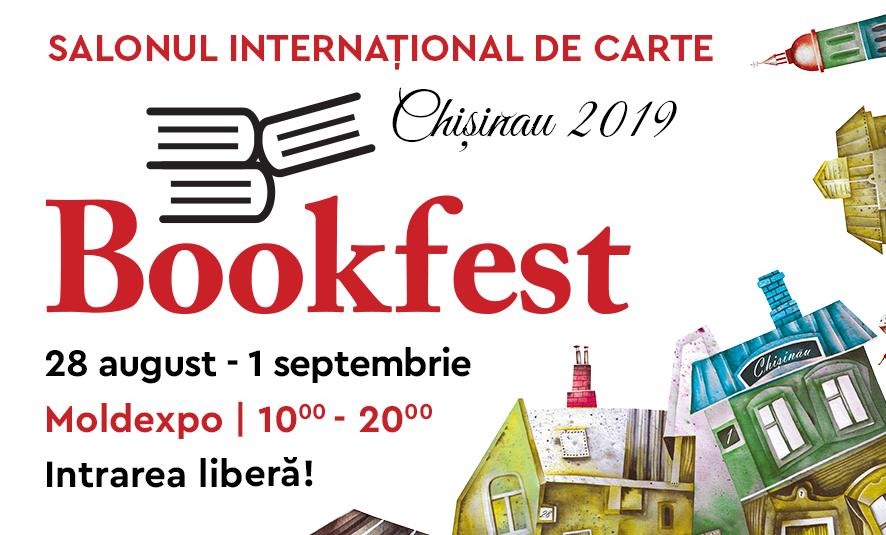 Înscrieri pentru Salonul Internațional de Carte Bookfest Chișinău 2019