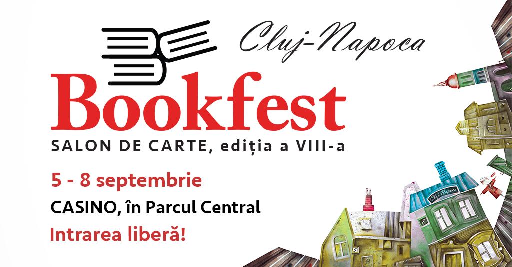 Bookfest aduce cărțile toamnei la Cluj-Napoca
