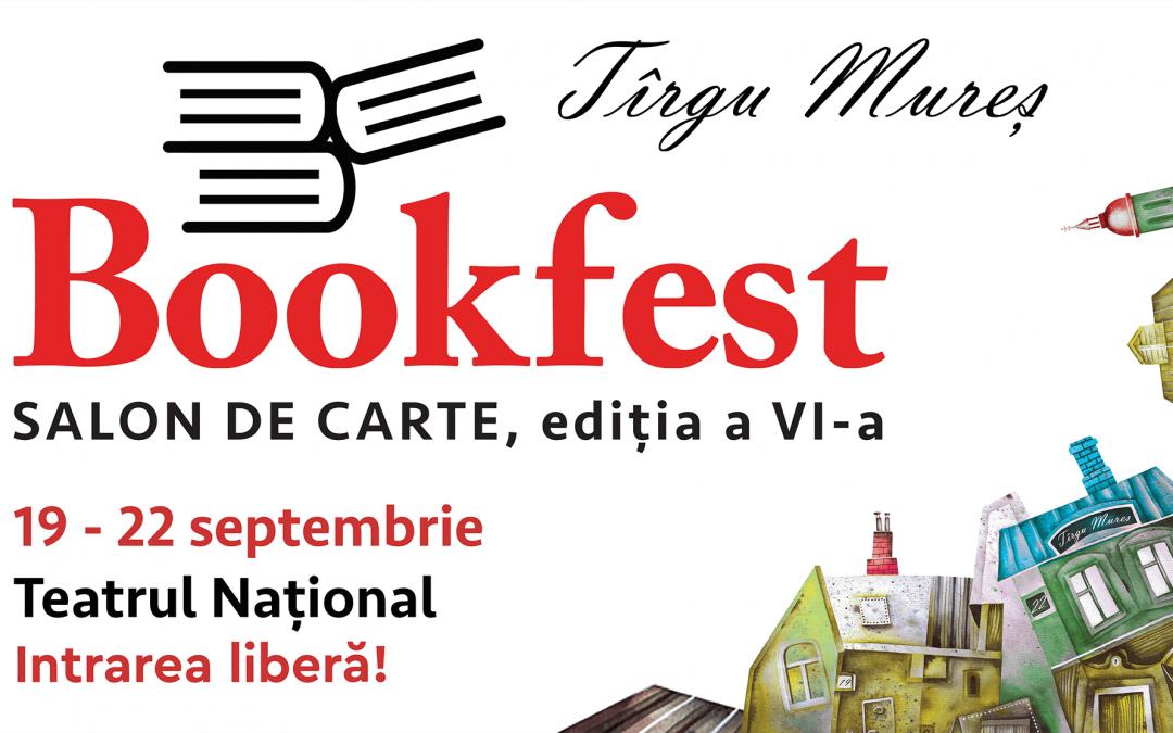 Bookfest deschide toamna culturală la Tîrgu Mureș